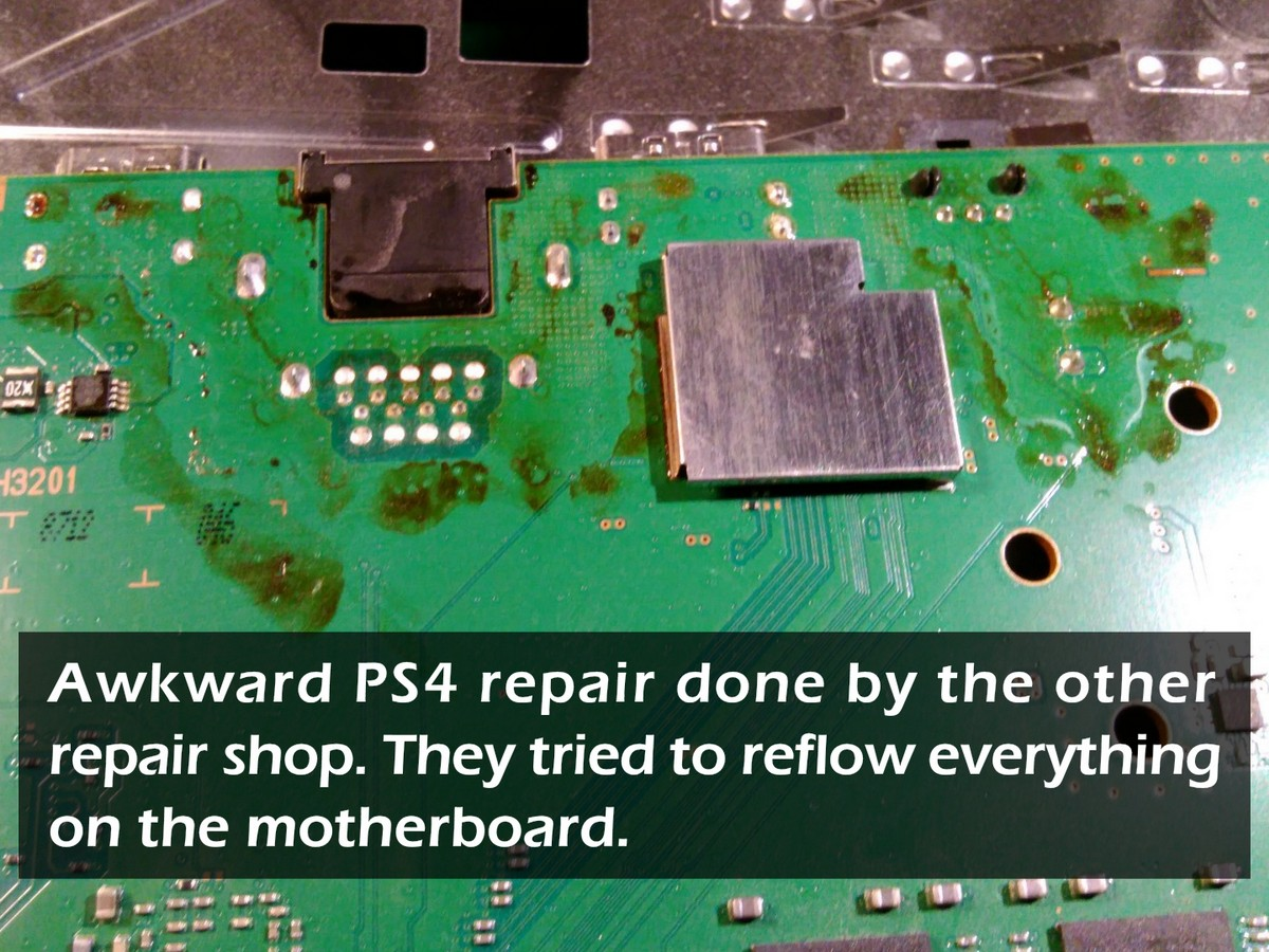 Sony Playstation 4 CUH-1116A HDMI Port Repair - Peter's Computers